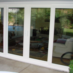 Four Panel Patio Door