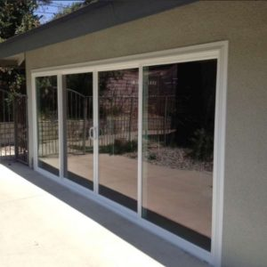 Sliding 4 Panel Patio Door