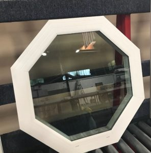 Geometric Vinyl Windows